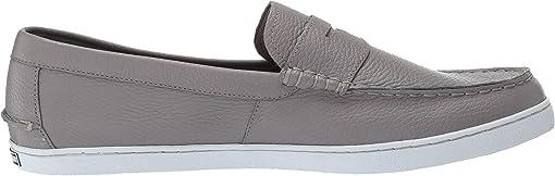 Grey Leather/White