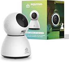 Smart Câmera 360º Bot Wi-Fi Positivo Casa Inteligente, 1080p Full HD, 25 FPS, áudio bidirecional, detecção de...