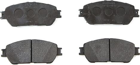 Toyota Genuine Parts 04465-08030 Front Brake Pad Set
