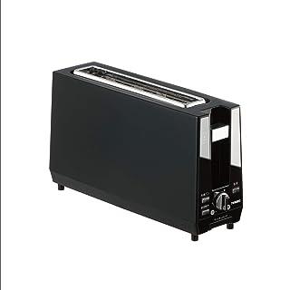 TWINBIRD スリムポップアップトースター ミラーブラック TS-D424B
