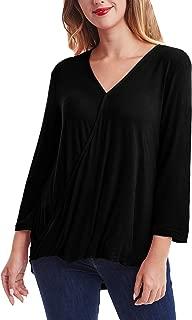 Best black v neck blouse Reviews