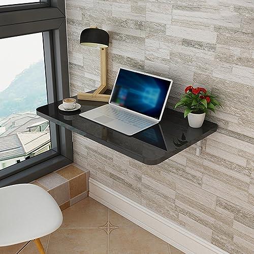 ZB Table De Bureau Murale pour Ordinateur Portable Table De Salle à Manger Murale Pliante A+ (Taille   100cm40cm)