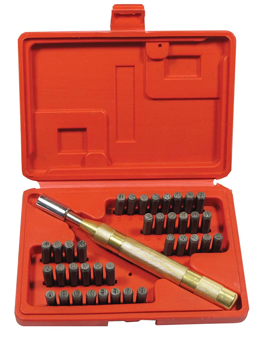 SE 95636NL 1/8-Inch Number and Letter Stamping with Automatic Punch