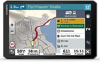 """Garmin Camper 890 MT S EU – Navigationsgerät mit Routing für Wohnmobile und Wohnwagen, 8"""" (20,3 cm) HD Display, vorinstallierte 3D Europa Karten, Verkehrsinfos via Drive App, Campingplatz Datenbank"""