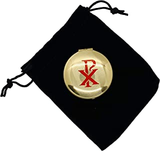 JWG Industries PYX with Screened Chi Rho Design 1 1/2 x 1/2 Inch