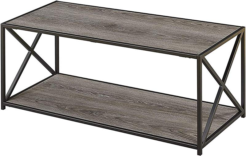 Convenience Concepts Tucson Coffee Table Weathered Gray