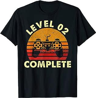 Level 2 Complete Vintage T-Shirt Celebrate 2nd Wedding