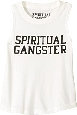 Spiritual Gangster Kids - SG Varsity Muscle Tank Top (Toddler/Little Kids/Big Kids)