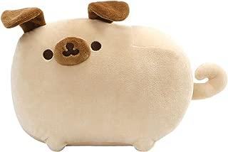 GUND Pusheen Pugsheen Stuffed Plush Dog with Poseable Ears, Tan, 9.5
