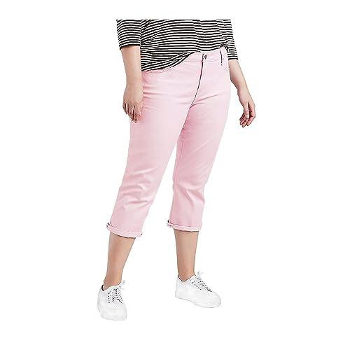 08eb5f982b8 Levi s Women s Plus Size Shaping Capri Jeans