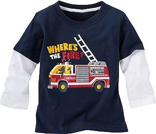 Best fire truck shirt for toddler Reviews