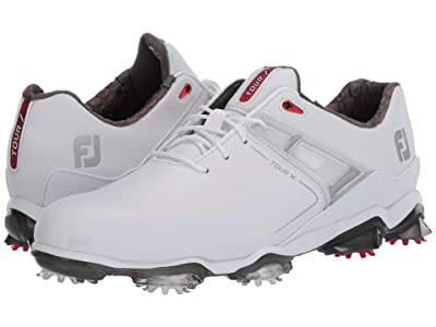 FootJoy Tour X (White/Red Trim) Men