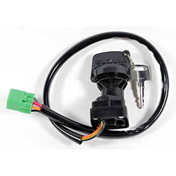 Yingshop New Ignition Key Switch for Suzuki ATV LTA400 LTA400F LTA400FC LTA450X LTA450XZ LTA500X LTA500XP LTA500XPZ LTA500XZ LTA750X LTA750XPZ LTA750XP LTF400 LTF400F Eiger King Quad 400 450 500 750