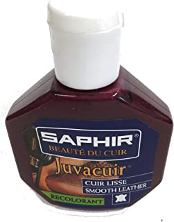 Saphir Juvacuir Smooth Leather Colorant - Repair Cream for Shoe Restoration
