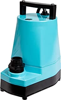 Little Giant 505005 1/6 HP Submersible Hydroponic Pump, 5-MSP, 115V, 1200 GPH