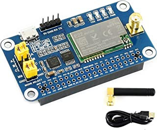 SX1262 LoRa HAT for Raspberry Pi Series Boards 915MHz Frequency Band,Support Data Transmission up to 5km,Wake on Radio,Wireless Config, Carrier Sensing, Communication Key