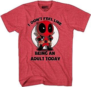 Marvel Deadpool Don't Feel Like Bein an Adult T-Shirt