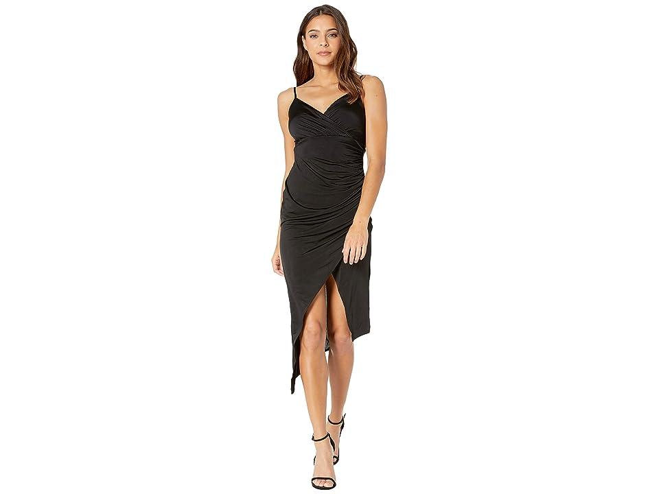 Bebe Surplus Cami Dress (Black) Women