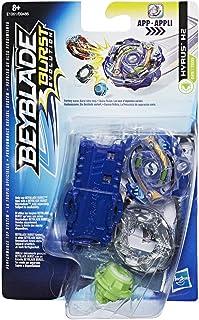 Beyblade- Peonza y Lanzador Hyrus H2, Multicolor, única (Hasbro E1061ES0)