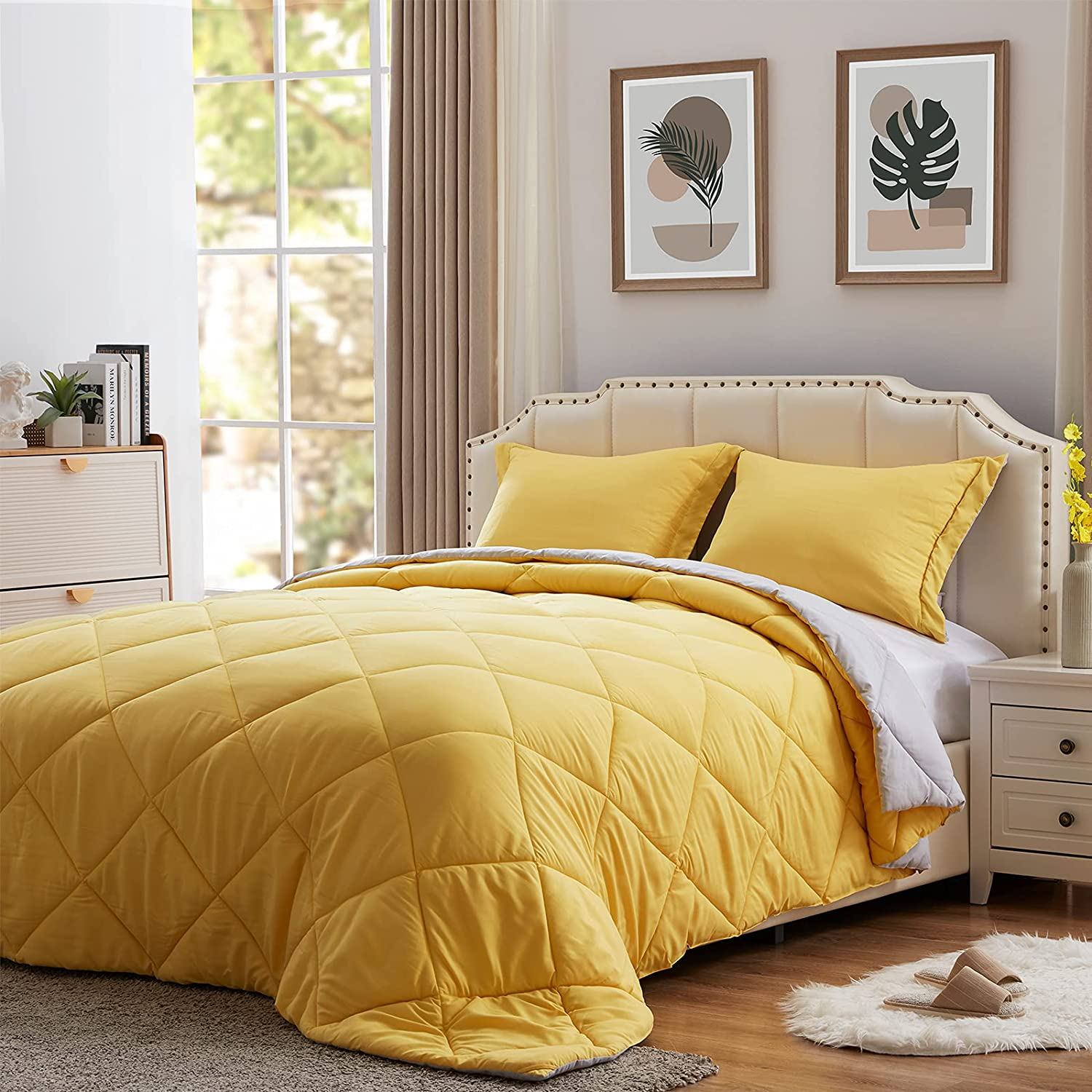 New products world's highest quality popular NexHome Lightweight Comforter Set Queen Down S Size Alternative Surprise price