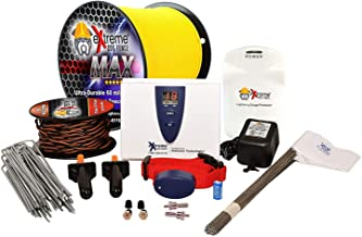 Extreme Dog Fence Max Grade Ultimate Performance Electric Dog Fence System with Max Duty 14 Gauge Wire with 60 Mil Thick Polyethylene Jacket
