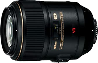 Nikon 105mm f/2.8 G VR AF-S Micro-Nikkor Lens with 3 UV/FLD/CPL Filters + Macro Tripod + Cleaning Kit