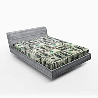 sheet of dollar bills