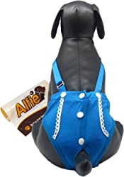 Alfie Pet - Jay Diaper Dog Sanitary Pantie with Suspender (for Girl Dogs)