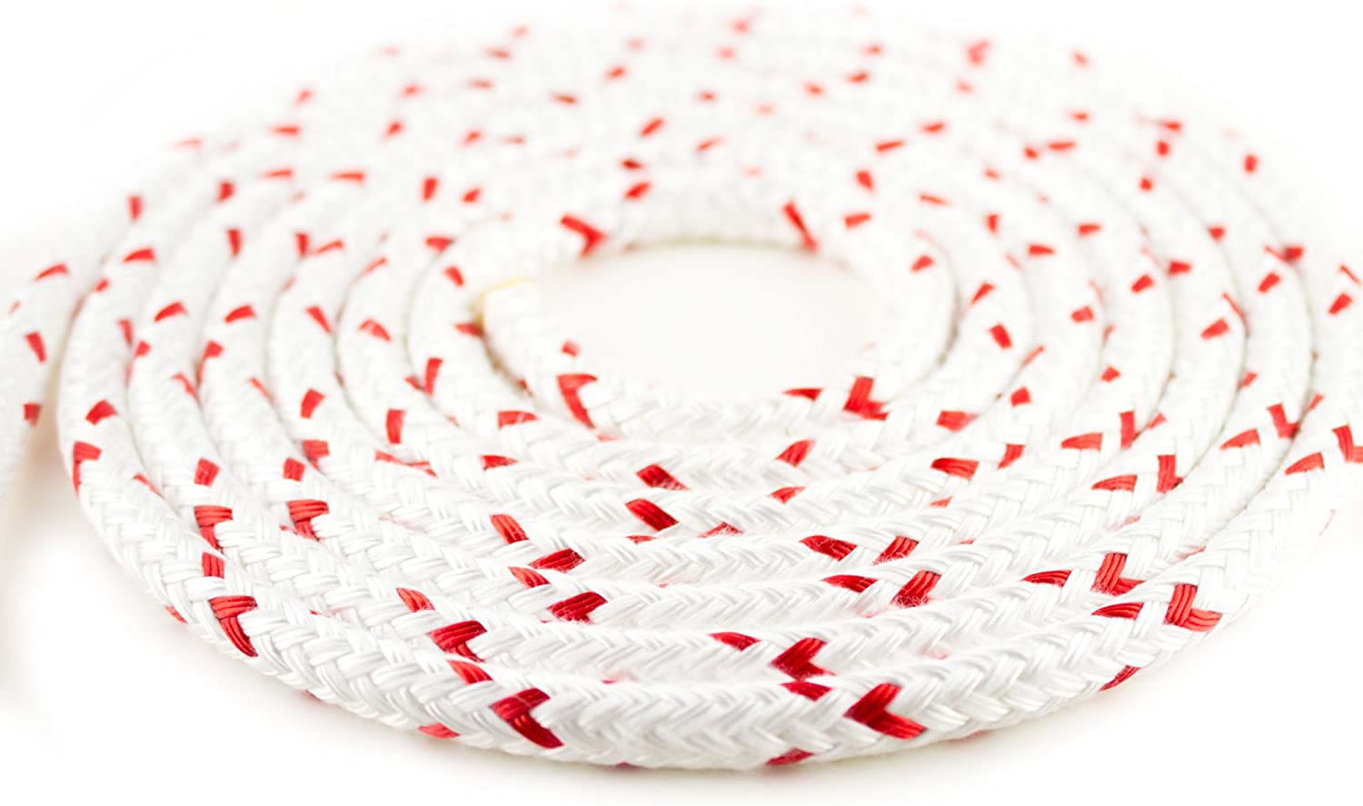 New England Ropes 140' of 1 2  (12mm) StaSet X Red Fleck