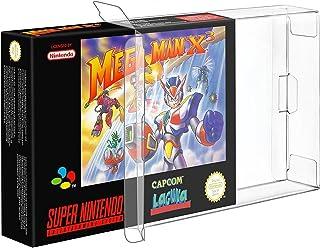 Link-e : 10 X Boitier de protection plastique pour boites de jeux Super nintendo (SNES) ou Nintendo 64 (N64)