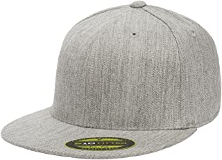 Flexfit Premium 210 Fitted Flat Brim Baseball Hat