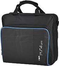 Zerone Portable Carrying Bag Travel Shoulder Bag Storage Case for PS4 Pro Black