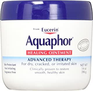 Aquaphor Baby Healing Ointment Advanced Therapy Skin Protectant, Multipack, 14 Ounce (Pack of 2)