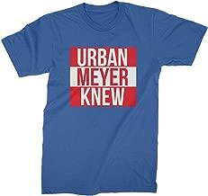 urban meyer knows t shirt