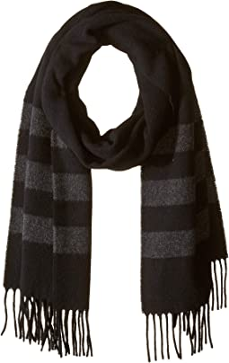 Wool Blanket Stripe Scarf