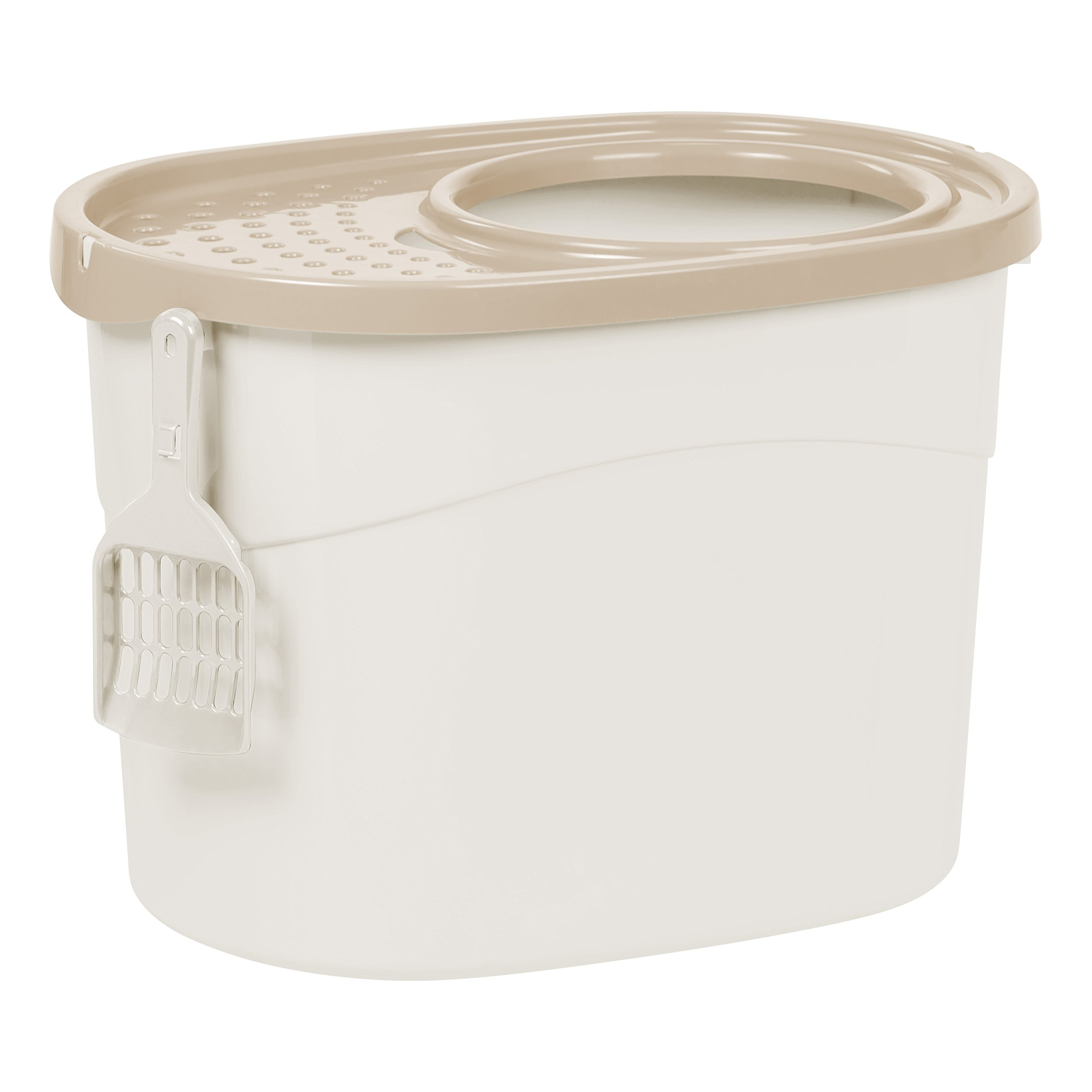 IRIS Entry Litter Scoop White