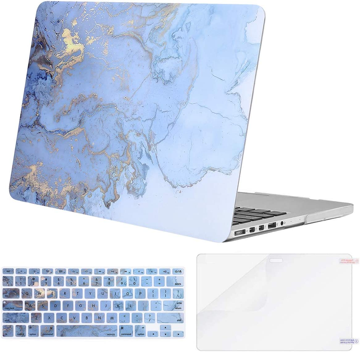 MOSISO Compatible with MacBook Pro 15 inch Case A1398 with Retin