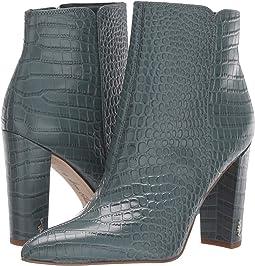 Grey Iris Kenya Croco Leather