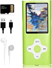 $22 » Mp3 Player,Music Player with a 32 GB Memory Card Portable Digital Music Player/Video/Voice Record/FM Radio/E-Book Reader/P...