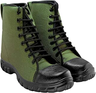 Blinder Men's Green Long Boots On Amazon.in