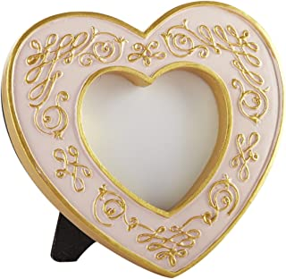 Kate Aspen Modern Romance Heart Frame, Pink and Gold