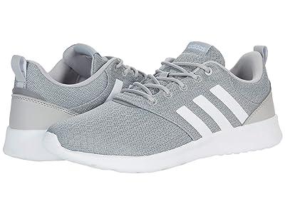 adidas Running QT Racer 2.0 (Grey/White/Grey) Women