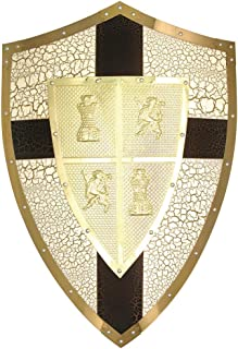 medieval shield size