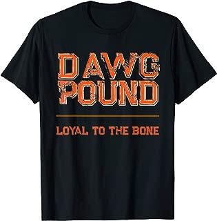 Dawg Pound Shirt Loyal Bone T-Shirt