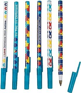 Autism Awareness Pens (72 bulk pen assortment)