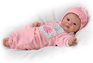 Violet Parker Lifelike Baby Girl Doll Weighted for Realism by The Ashton-Drake Galleries