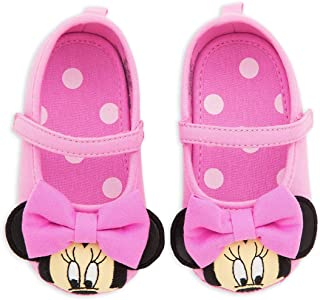 Disney Store Minnie Mouse 3D Pink Baby Girls Costume Dress Shoes w/Ears