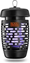 BLACK+DECKER 941 Zapper Hanging Electric Lantern with Bee Tray, Black