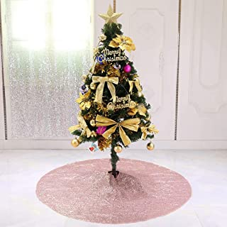 Best champagne sequin tree skirt Reviews