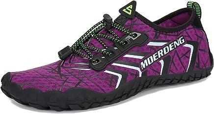 MOERDENG Men Women Water Shoes Quick Dry Barefoot Aqua Socks Swim Shoes Pool Beach Walking Running